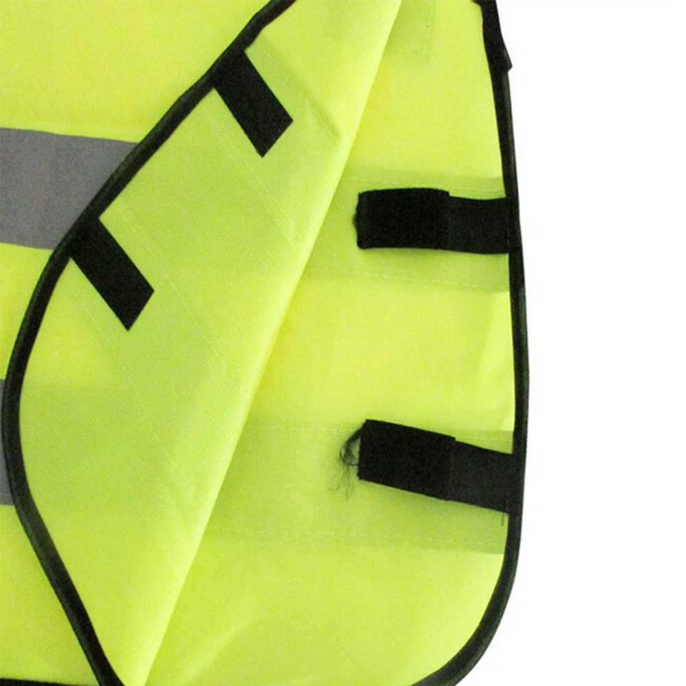 2019 Baru Anak Keselamatan Lalu Lintas Rompi Kuning Visibilitas Rompi Anak-anak Childs Jaket Reflektif Pakaian Safety