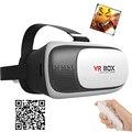 Горячие Продажи 3D виртуальной реальности очки 2.0 VR картонную КОРОБКУ гарнитура с bluetooth пульт дистанционного управления для 4.0-6.0 дюймов смартфоны