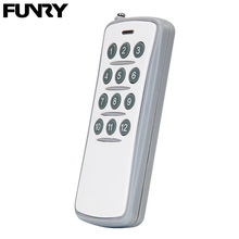 Funry Wireless Smart Remote Control 12 Buttons Wall Light Switch Accessories RF 433MHz 20M Multiple Control