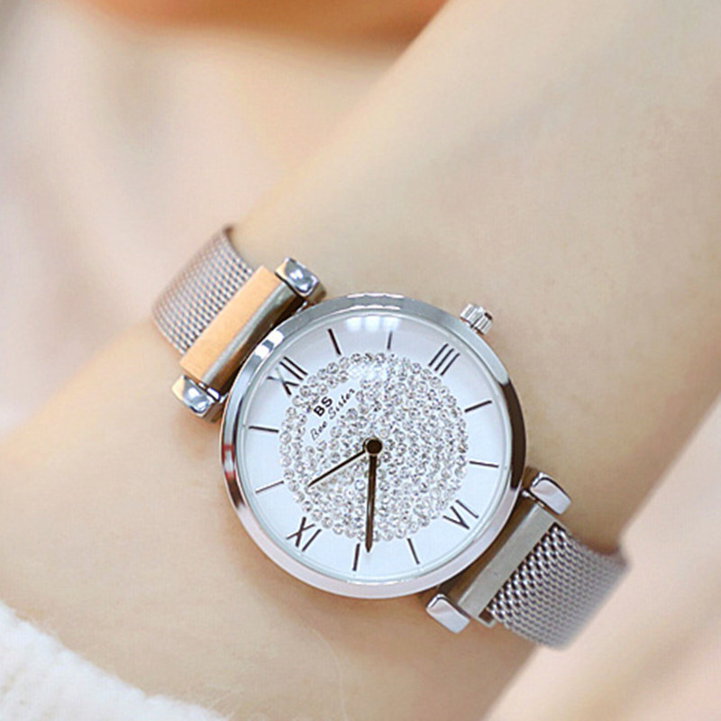 2019 New Hot-selling Watches High-end Chain Magnets Women's Watches Fashion & Casual Chronograph Dropshipping 2018 Hardlex