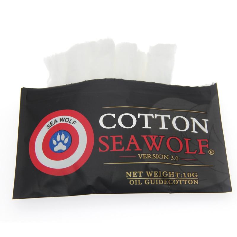 Original Cotton SEA WOLF Vape Better Than Cotton For Ecigarette Rebuildable RDA RBA DIY Atomizer Vapor Cotton