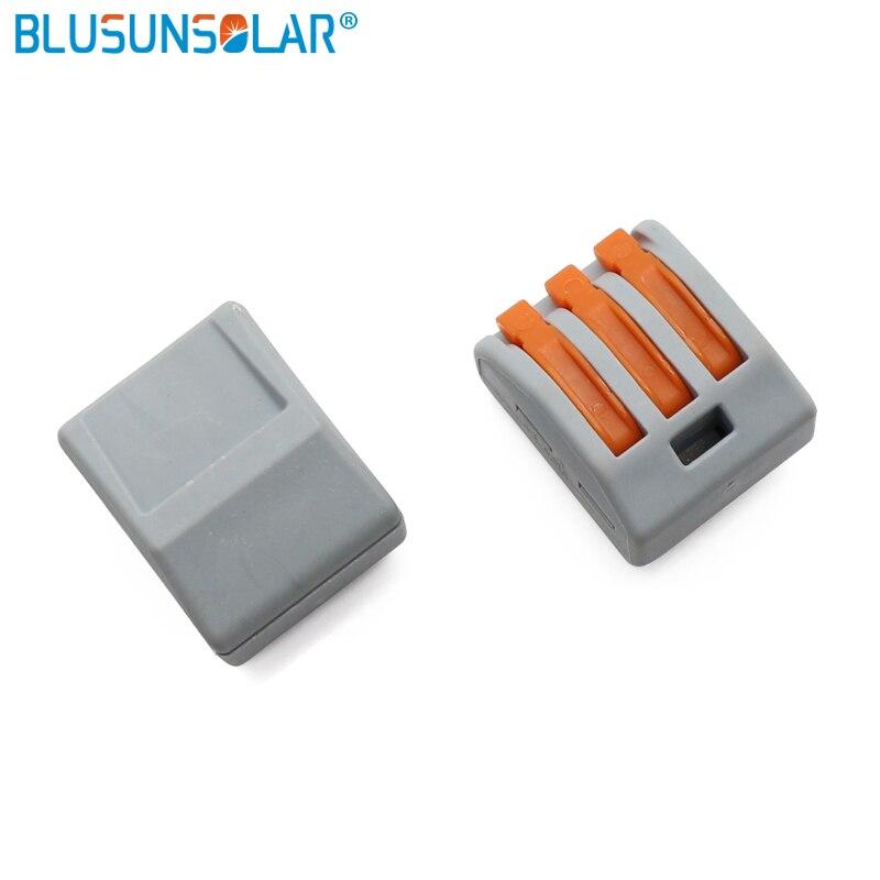 factory price 500 piece push type terminal blocks electrical wiring