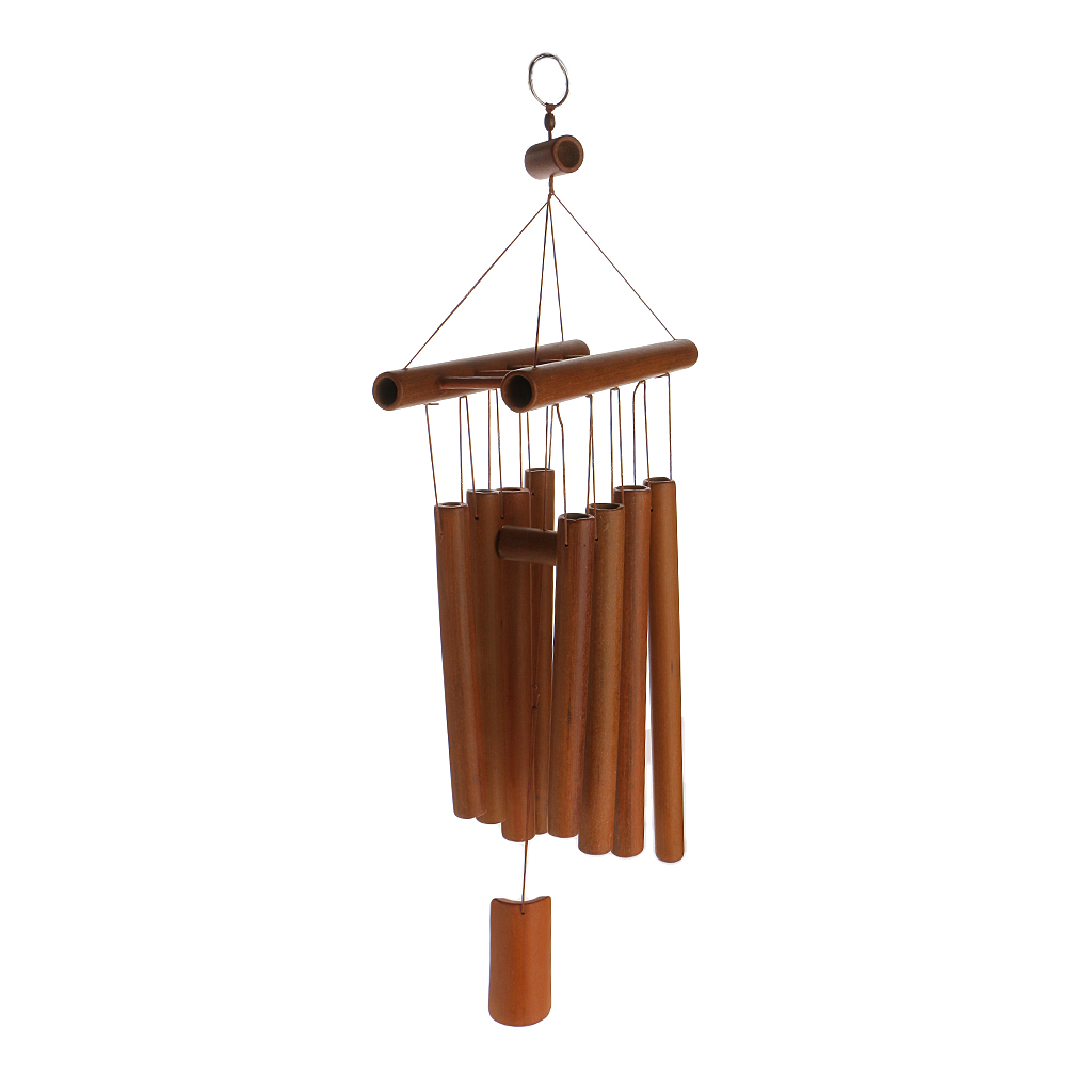 58cm Hanging Raft Windmill Wind Chime Tube Decorative Outdoor Home Mobile