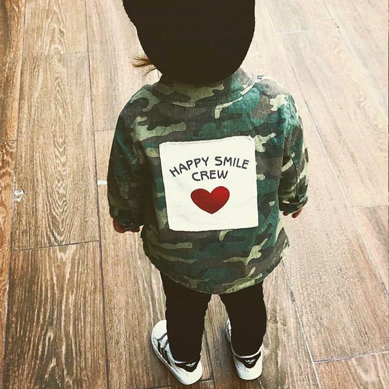 Yorkzaler Baby Girls Boys Jacket Cardigan 17 Fashion Spring Autumn Camouflage Coats Army Children's Windbreaker Outerwear 26