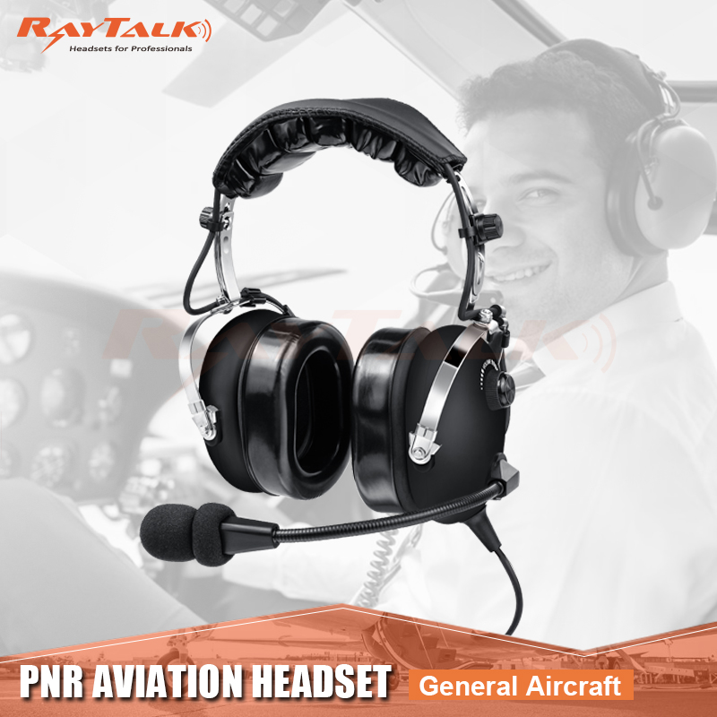 13c5b36d625 Headband Style and Wired Communication PNR Aviation Antinoise Headphone  professional for Pilot , DHL FREE SHIPPING