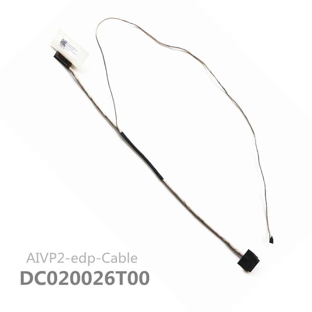 Новый кабель AIVP2 DC020026T00 для Lenovo Ideapad 100-14 100-15 Lcd Lvds