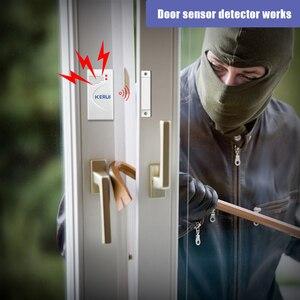 Image 4 - KERUI 10pcs/lot Wireless Door Window Sensor 433MHz Security Smart Gap Sensor Door Alarm Detector for Home Security Alarm System