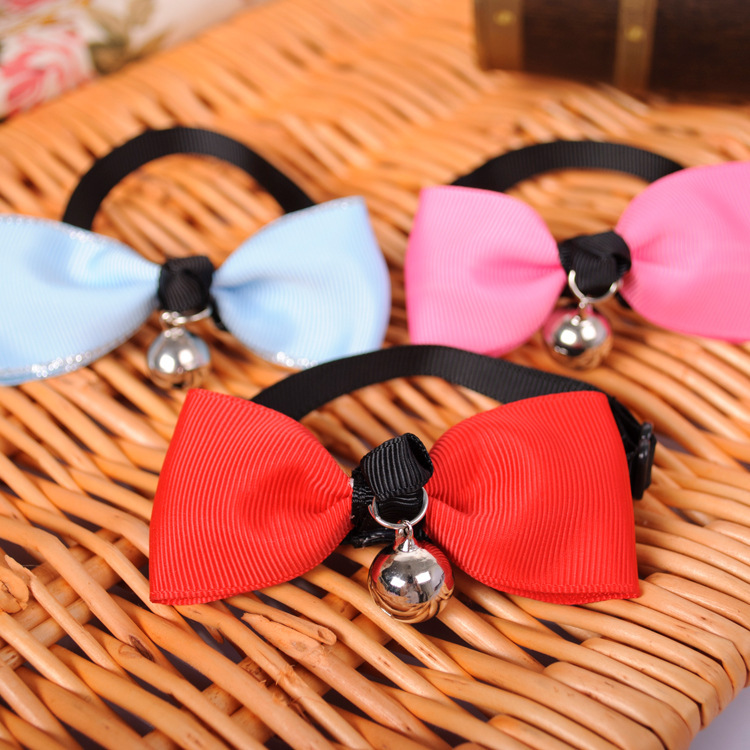Tie suit tie upscale pet accessories pet dogs and cats with bells tie accessories 20pcs/lot