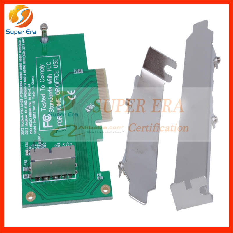 NEW 2013 2014 2015 PCIE PCI-Express PCI-E PCI Express to for Apple Macbook Pro Air SSD Convert Card for A1502 A1465 A1466 A1398