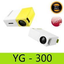 YG300 YG310 LED Proyector Portátil YG-300 400-600LM 3.5mm de Audio 320×240 Píxeles HDMI USB Mini Proyector Multimedia Para El Hogar jugador