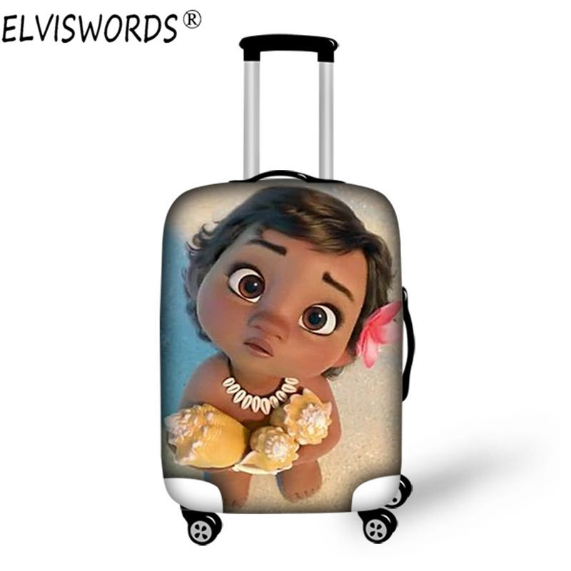 Elviswords anime princesse moana costume bagages housse de for Housse costume voyage