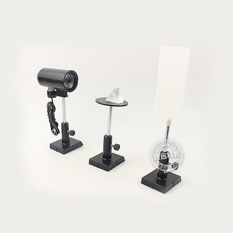 Optical laboratory equipment White light dispersion and synthesis <font><b>demonstrator</b></font> Physics Experiment Science Teaching Experiment image