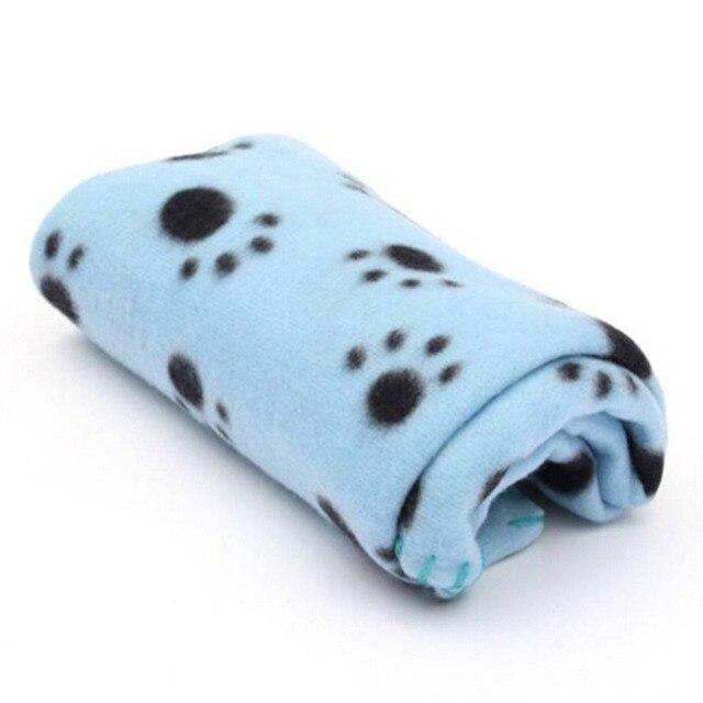 Soft Pet blanket Dog Cat Blanket Pet Mat 60x70cm Three Colors 4