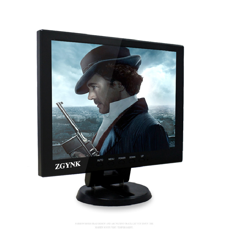 Two road 10.4 inch monitor video input interface BNC HDMI USB VGA industrial safety equipment hd LCD monitor computer monitors