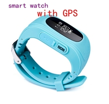 HD Anti Lost GPS Smart Phone Watch Tracker Wristband Kids Child SOS GSM with App For iphone for Samsung Android Smart watch Qe0