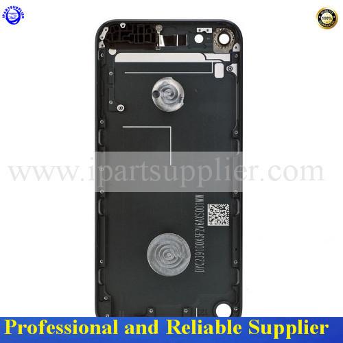 7 color garantía 100% original volver puerta de la batería carcasa cover case carcasa trasera para el ipod touch 5 (con el logotipo) envío Gratis