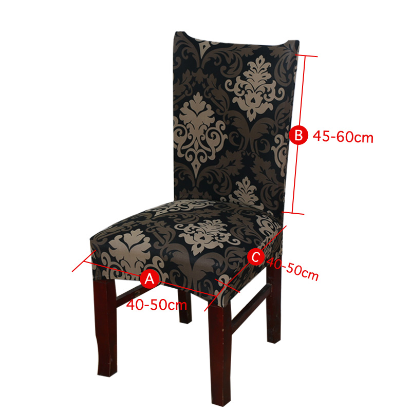 Floral Printing Stretch Elastic Chair Covers  1
