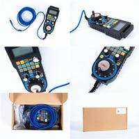 CNC Control handle wheel wireless Mach3 MPG pendant handwheel for CNC engraving milling machine 4 6 axis MPG WHB04B 4 WHB04B 6