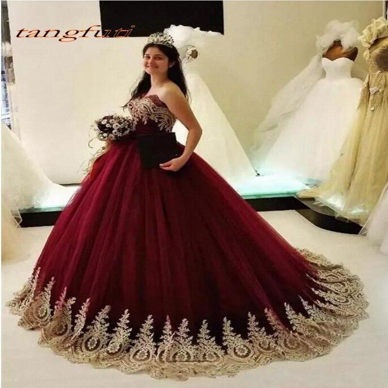 Quinceanera Robes Longue De Bal Partie En Ligne Princesse robe de Bal pour De Bal Sweet Sixteen 16 Robes robes de 15 anos