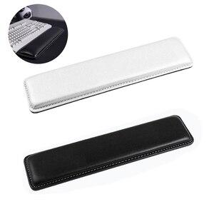 Image 1 - PU Leder Tastatur Handgelenk Rest Pad Gamer PC Handschutz Komfortable Spiel Matte für Computer DJA99