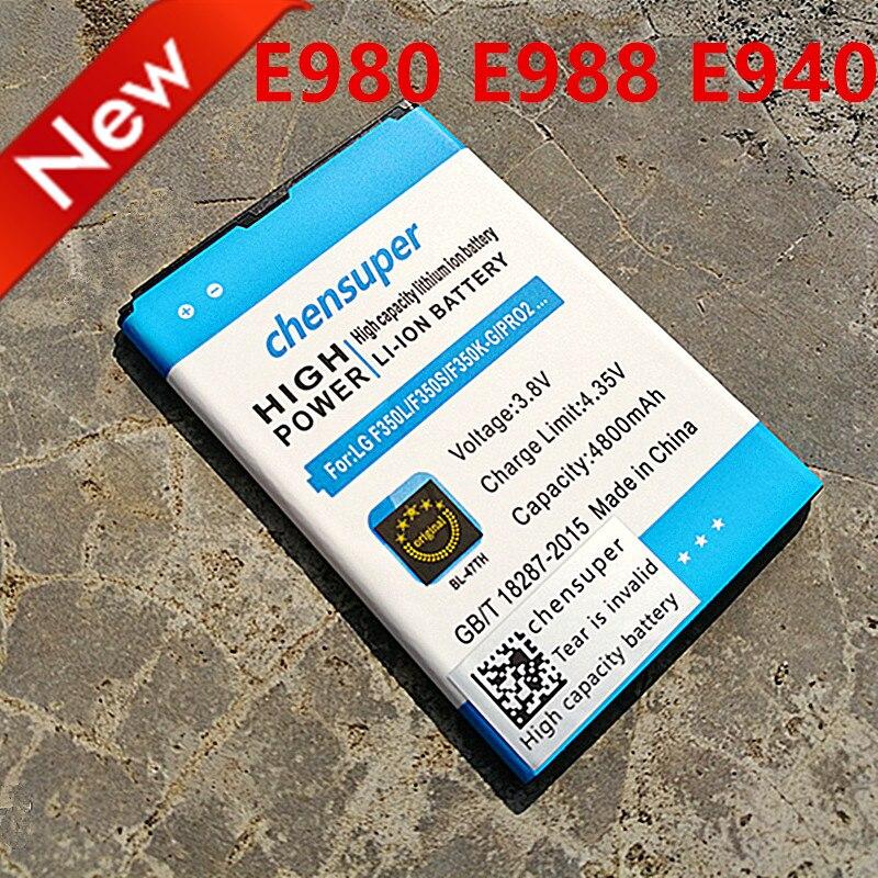 Chensuper 4800 mAh BL-48TH BL-47TH Batterie für LG Optimus G Pro F240/K E980 E988 E940 F310 D684 F240S F240L Pro 2 F350/S/L/K D837