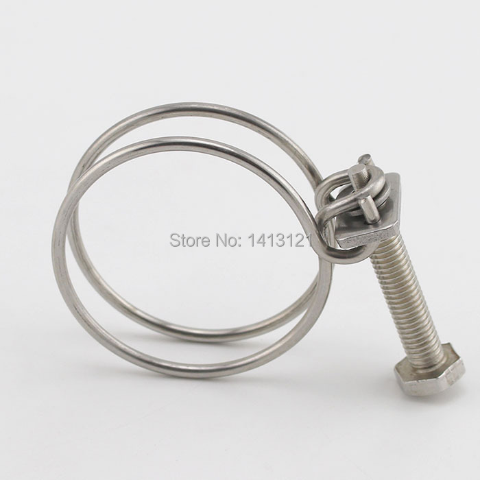 Aliexpress.com : Buy free shipping 20*2 stainless steel hose clamp ...