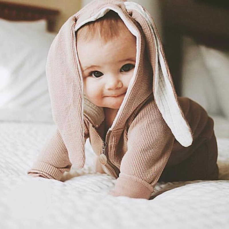 Baby Clothes Girl Romper Overalls For Children Cute Rabbit Unisex Kids Clothing Jumpsuit For Newborns Costume For Girls Boy Gift