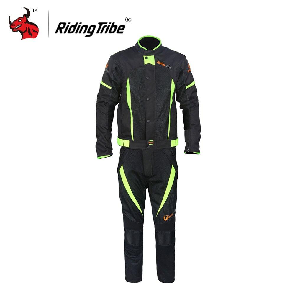 Riding Tribe Winter Summer Motorcycle Jacket Men Windproof Waterproof Riding Jacket And Motorcycle Pants Suit Blouson Moto