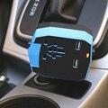 Carregador de carro Dual USB Universal EUA REINO UNIDO AU UE Elétrica Conversor de Ficha de alimentação Com Dual Usb Porta de Carro-Carregador Para Celular telefones