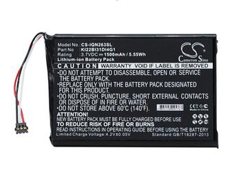 Cameron Sino 1500mah battery for GARMIN 010-01188-02 2689LMT 6-inch Nuvi 2639LMT KI22BI31DI4G1 batteries image