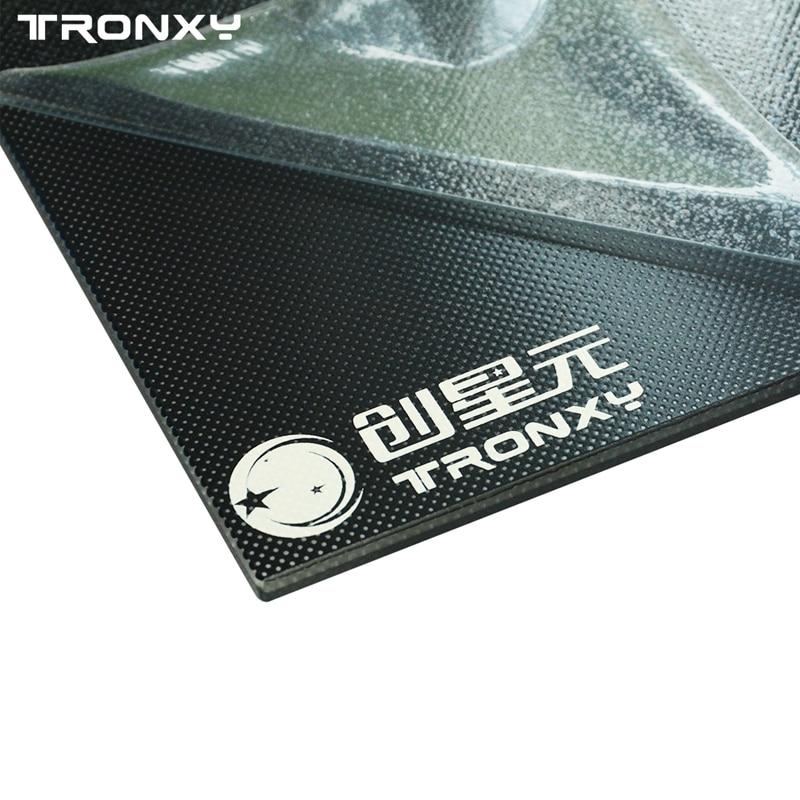 Tronxy? 330*330*4mm Treillis Chaud En Verre Plaque de Lit Lit Chauffant Plate-Forme Pour 3D Imprimante - 3