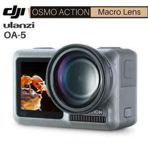 Image 1 - Ulanzi OA 5 15X Macro Camera Lens for Dji Osmo Action HD 4K Optical Glass External Osmo Action Macro Lens Action Accessories
