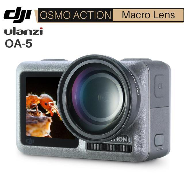 Ulanzi OA 5 15X Macro Camera Lens for Dji Osmo Action HD 4K Optical Glass External Osmo Action Macro Lens Action Accessories