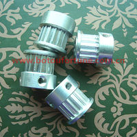 36 teeth H timing belt pulleys aluminum timing pulley rope pulley 10mm width
