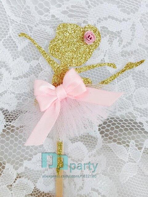 Ballerina Cupcake Topper Bailarina Decoracion Bailarina Fiesta De