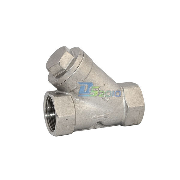 MEGAIRON BSPT 1 DN25 CF8M WYE Filter Valve Stainless Steel SS316 Valve with 1.00mm Strainer Mesh 800WOG 1 2globe valve stainless steel sus ss 316 npt cf8m heavy duty new