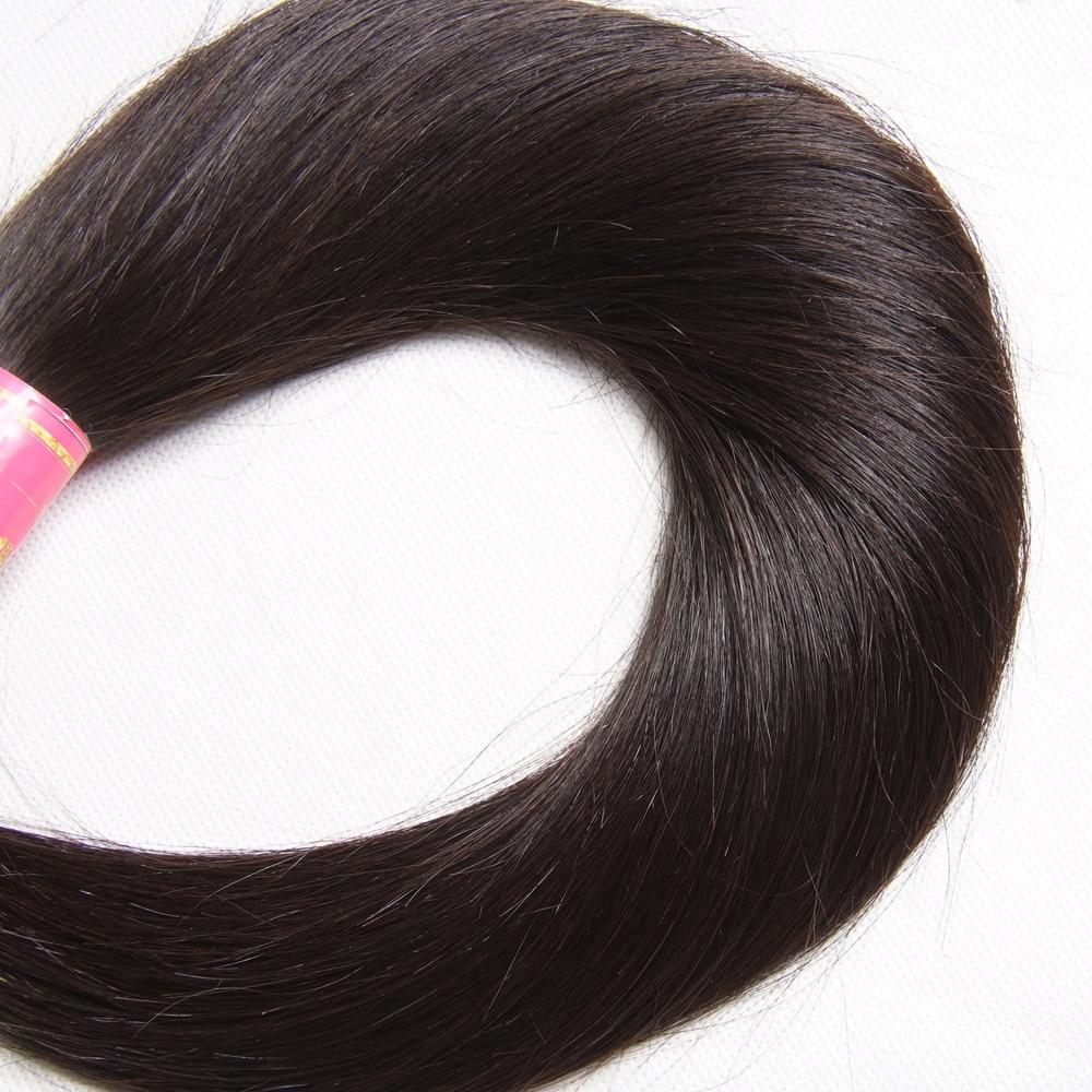 Nadula Hair 1 Bundle Indian Hair Straight  s 8-30inch  Hair s Natural Color   5