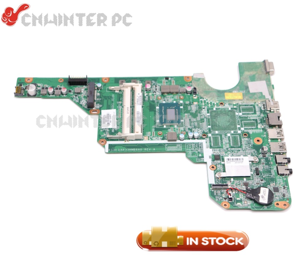 NOKOTION For HP Pavilion G6 G6-2000 Laptop Motherboard I3-3110M CPU DDR3 Full tested 710873-001 710873-501 электрический накопительный водонагреватель ariston abs pro eco pw 50 v slim