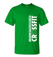 Mens 100% Cotton Crossfit Running Tshirt Comfortable Loose Fit