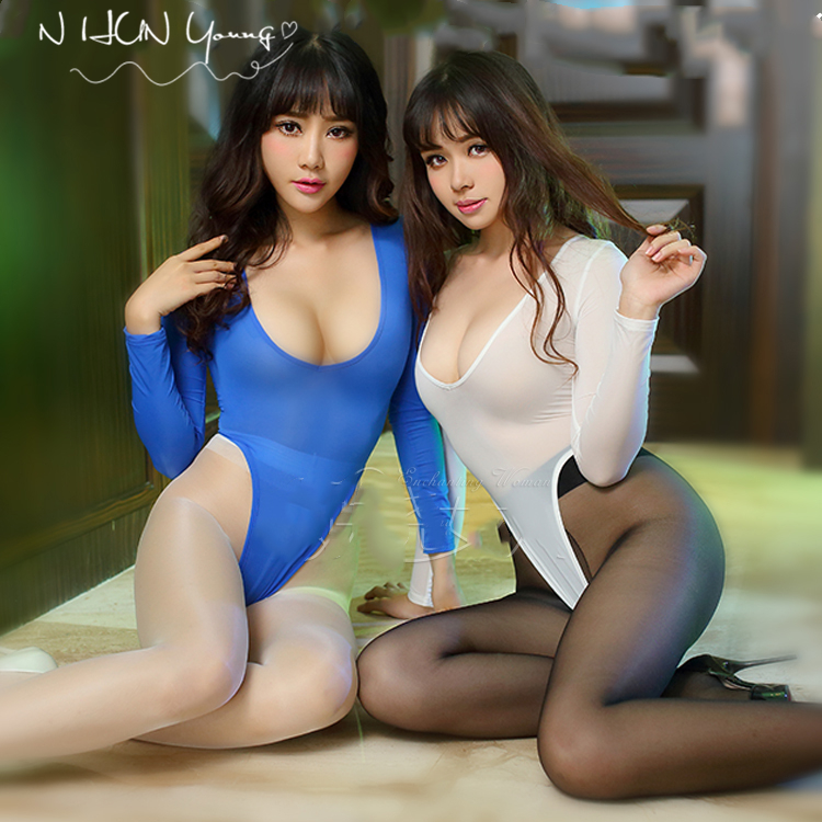 Sexy Lingerie Lady Lure Pajamas halloween costumes for Women Underwear Nightwear Lenceria Ballet Bodysuit Erotic SY140