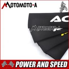 Новый Передняя Вилка протектор амортизатор гвардии Обёрточная бумага кожного покрова для мотоцикла Мотокросс ямы Байк KTM YZF250 CRF250 CRF450