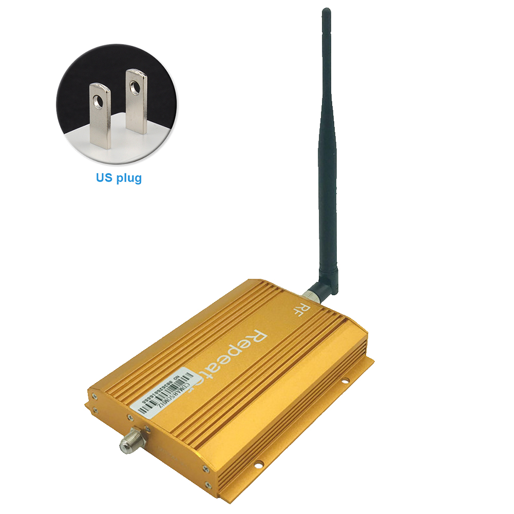 <font><b>850MHz</b></font> Single Port Portable Signal Booster Kit Amplifier Repeater Wireless With Antenna Cell Phone Full-duplex Easy Install image