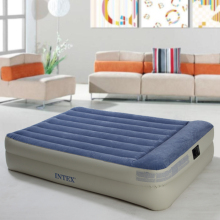 New double layer built-in pillow inflated mattress air cushion bed thickened charging bed Built in electric pneumatic pump