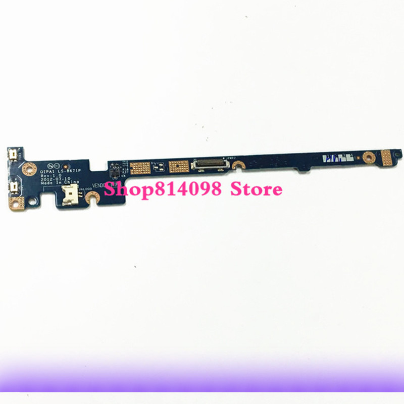 New Replacement for Lenovo Thinkpad Twist S230u Power Switch Board Ls-8671P 04Y1569