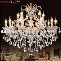 Modern LED Crystal Chandelier Lights Lamp For Living Room Cristal Lustre Chandeliers Lighting Pendant Hanging Ceiling