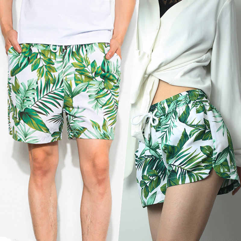 5692687d03 Couple Swimwear Surf Swimming Shorts For Men Women Beach Shorts Quick Dry  Light Thin Micro-