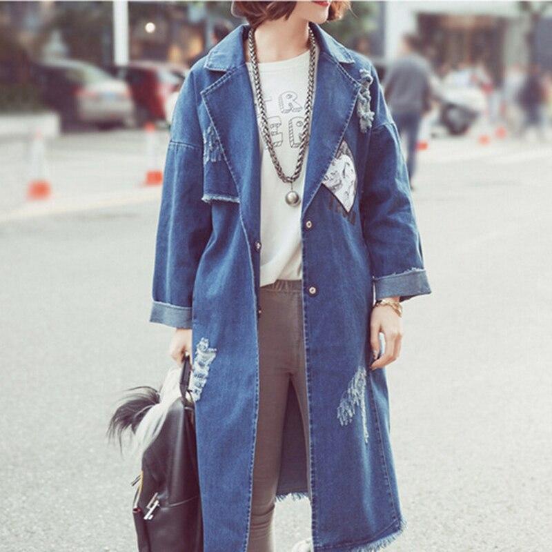 Online Get Cheap Long Jean Coat -Aliexpress.com | Alibaba Group