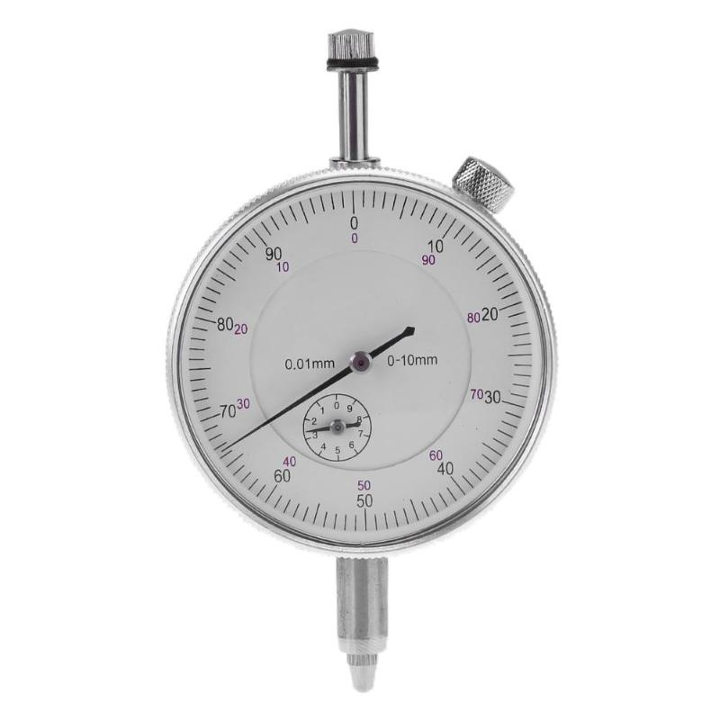 Precision Tool 0-10mm Dial Indicator Measuring Instruments Dial Gauge 0.01mm