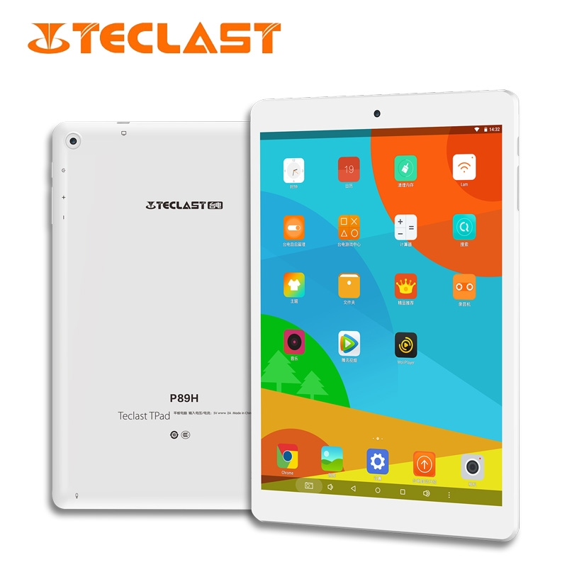 Teclast P98H 7.85 Inch Tablet PC MTK MT8163 Quad Core 1GB RAM 16GB ROM Android 6.0 1024*768 IPS 2.0MP Dual Camera Tablet 2800mAh stylish rose gold cut out rectangle rhinestone bracelet for women
