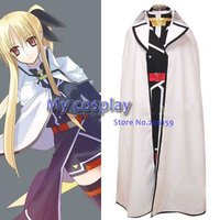 Magical Girl Lyrical Nanoha Fate Testarossa Cosplay Costume Freeshipping